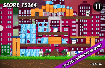 Capturas de pantalla del juego Angry Hipsters para iPhone, iPad o iPod.