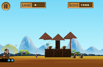 Screenshots of the Angry Man game for iPhone, iPad or iPod.