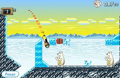 Descarga gratuita de Angry Penguin Catapult para iPhone, iPad y iPod.