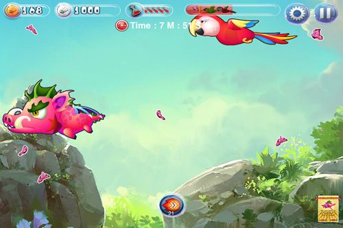 Écrans du jeu Angry pigs: The sequel of the bird pour iPhone, iPad ou iPod.