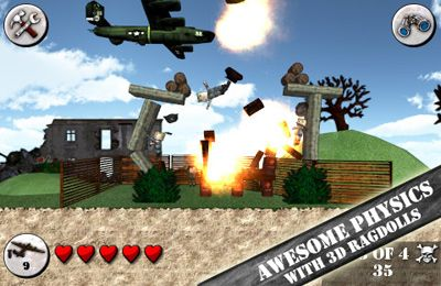 Descarga gratuita de Angry World War 2 para iPhone, iPad y iPod.