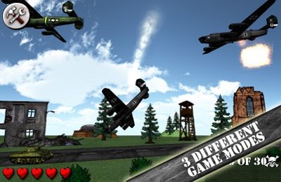 Capturas de pantalla del juego Angry World War 2 para iPhone, iPad o iPod.