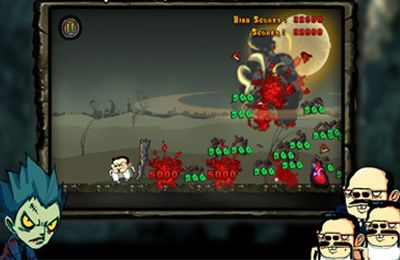 Download Angry Zombie iPhone free game.
