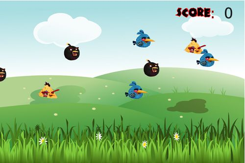 Descarga gratuita de Angry zombie birds para iPhone, iPad y iPod.