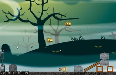 Игра Angry Zombie Launch для iPhone