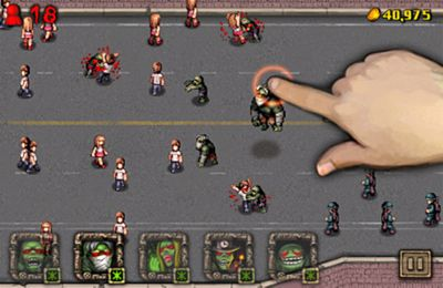 Download Angry Zombies iPhone free game.