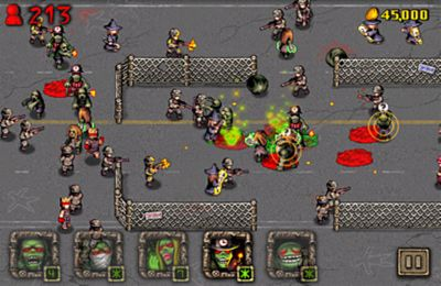 Screenshots of the Angry Zombies game for iPhone, iPad or iPod.