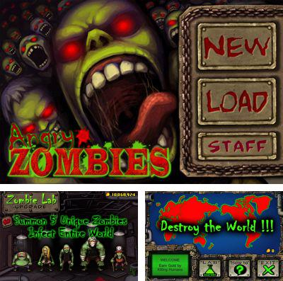 In addition to the game Dingle Dangle for iPhone, iPad or iPod, you can also download Angry Zombies for free.