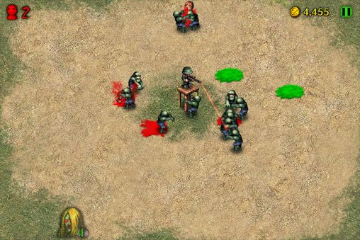 Screenshots of the Angry zombies 2 game for iPhone, iPad or iPod.