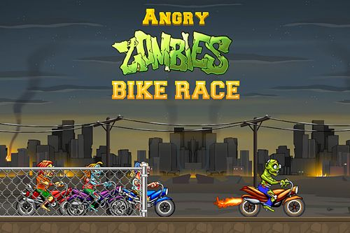 Angry zombies: Bike race