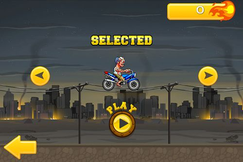 Free Angry zombies: Bike race download for iPhone, iPad and iPod.
