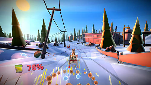 Baixe o jogo Animal adventure: Downhill rush para iPhone gratuitamente.