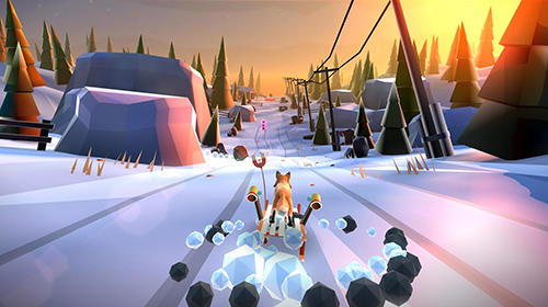 Baixe Animal adventure: Downhill rush gratuitamente para iPhone, iPad e iPod.