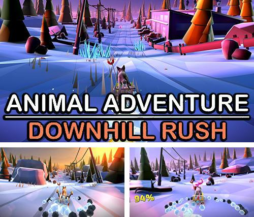 Download Animal adventure: Downhill rush iPhone free game.