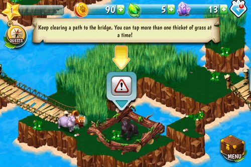 Screenshots vom Spiel Jack of All Tribes für iPhone, iPad oder iPod.