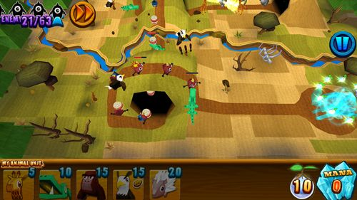 Capturas de pantalla del juego Animal's jewel para iPhone, iPad o iPod.