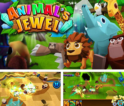 In addition to the game iStriker: Rescue & Combat for iPhone, iPad or iPod, you can also download Animal's jewel for free.