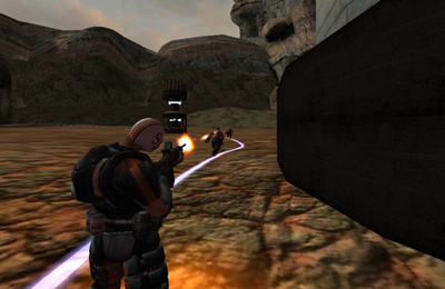 Screenshots of the Annihilator game for iPhone, iPad or iPod.