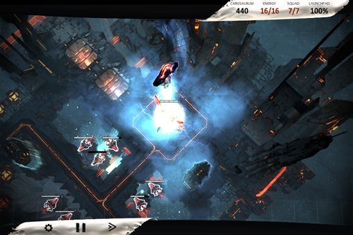 Screenshots of the Anomaly defenders game for iPhone, iPad or iPod.