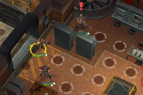 Capturas de pantalla del juego Anti squad: Tactics para iPhone, iPad o iPod.