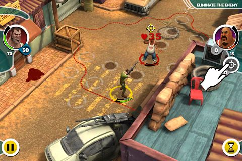 Screenshots of the Antisquad: Tactics premium game for iPhone, iPad or iPod.