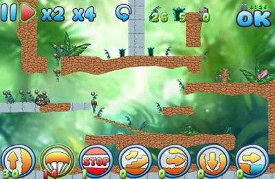 Screenshots vom Spiel Ants : Mission Of Salvation für iPhone, iPad oder iPod.