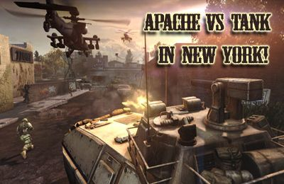Apache vs Tank in New York! (Air Forces vs Ground Forces!)