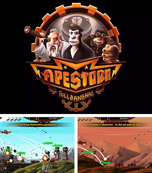In addition to the game Streetbike. Full blast for iPhone, iPad or iPod, you can also download Apestorm: Full fananas for free.