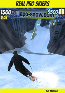 Screenshots of the APO Snow game for iPhone, iPad or iPod.