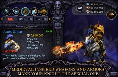 Kostenloser Download von Apocalypse Knights – Endless Fighting with Blessed Weapons and Sacred Steeds für iPhone, iPad und iPod.