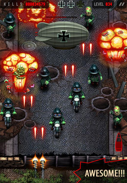 Free Zombie Commando download for iPhone, iPad and iPod.
