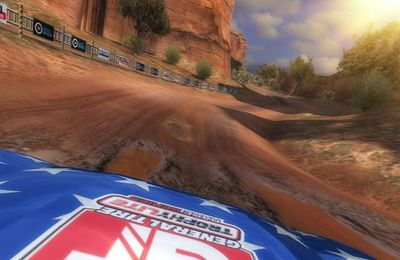 Download Ricky Carmichael's Motorcross Marchup iPhone free game.