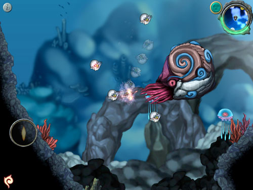 Download Aquaria iPhone free game.