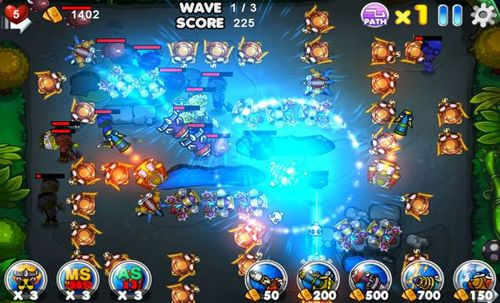Descarga gratuita de Aquarius: Tower defence para iPhone, iPad y iPod.