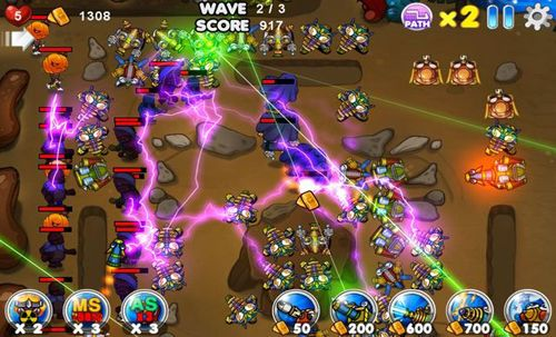 Игра Aquarius: Tower defence для iPhone