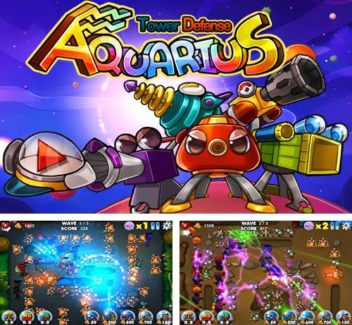 In addition to the game Hotel Transylvania Dash for iPhone, iPad or iPod, you can also download Aquarius: Tower defence for free.
