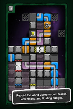 Screenshots of the Aqueduct game for iPhone, iPad or iPod.