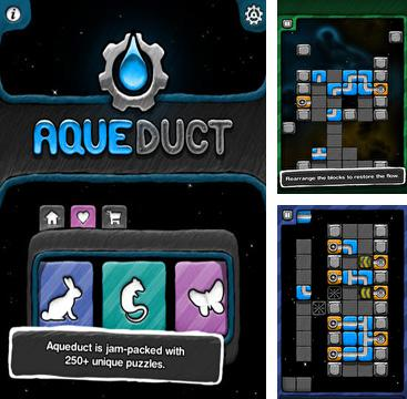 In addition to the game Trainz simulator 2 for iPhone, iPad or iPod, you can also download Aqueduct for free.