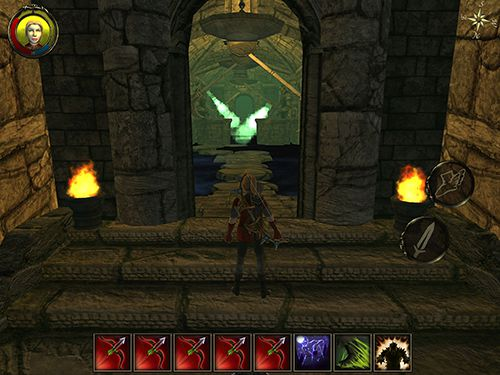Screenshots vom Spiel Aralon: Forge and flame für iPhone, iPad oder iPod.