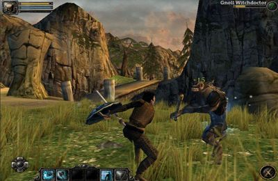 Screenshots of the Aralon: Sword and Shadow game for iPhone, iPad or iPod.
