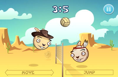 Screenshots do jogo Arcade BunnyBall para iPhone, iPad ou iPod.