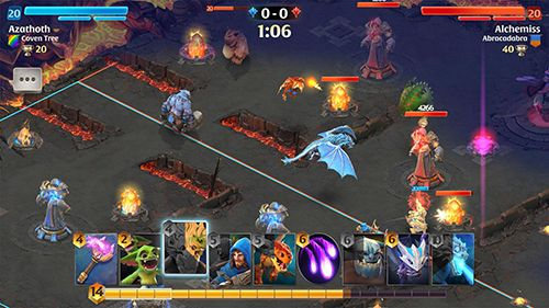 Screenshots of the Arcane citadel: Duel of mages game for iPhone, iPad or iPod.