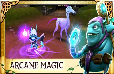 Screenshots do jogo Arcane Legends para iPhone, iPad ou iPod.