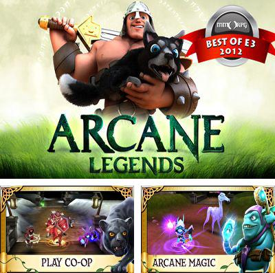 In addition to the game Akinator the Genie for iPhone, iPad or iPod, you can also download Arcane Legends for free.