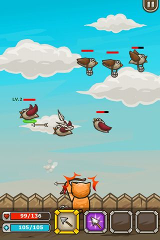 Download Archer cat iPhone free game.