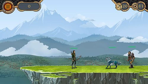 Screenshots do jogo Archer's revenge para iPhone, iPad ou iPod.