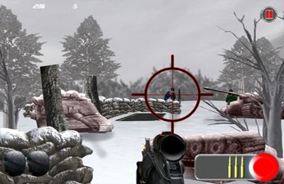 Screenshots of the Arctic Combat Rivals HD – Assassins At War game for iPhone, iPad or iPod.