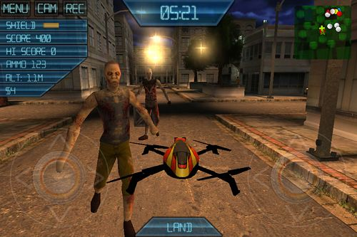 Descarga gratuita de ARDrone sim: Zombies para iPhone, iPad y iPod.