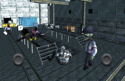 Screenshots of the Area 51 Zombie Infestation game for iPhone, iPad or iPod.