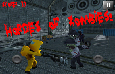Screenshots do jogo Area 51 Zombie Infestation para iPhone, iPad ou iPod.